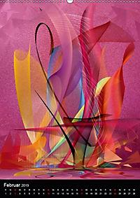 Mehrfarben von Nico Bielow (Wandkalender 2019 DIN A2 hoch) - Produktdetailbild 2