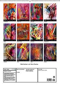Mehrfarben von Nico Bielow (Wandkalender 2019 DIN A2 hoch) - Produktdetailbild 13
