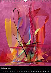 Mehrfarben von Nico Bielow (Wandkalender 2019 DIN A3 hoch) - Produktdetailbild 2