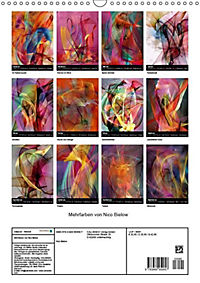 Mehrfarben von Nico Bielow (Wandkalender 2019 DIN A3 hoch) - Produktdetailbild 13