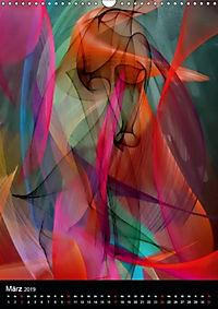 Mehrfarben von Nico Bielow (Wandkalender 2019 DIN A3 hoch) - Produktdetailbild 3