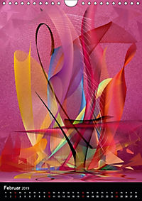 Mehrfarben von Nico Bielow (Wandkalender 2019 DIN A4 hoch) - Produktdetailbild 2