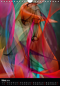 Mehrfarben von Nico Bielow (Wandkalender 2019 DIN A4 hoch) - Produktdetailbild 3