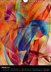 Mehrfarben von Nico Bielow (Wandkalender 2019 DIN A4 hoch) - Produktdetailbild 1