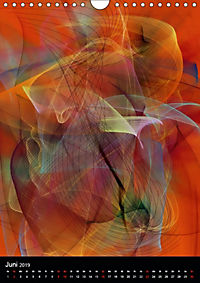 Mehrfarben von Nico Bielow (Wandkalender 2019 DIN A4 hoch) - Produktdetailbild 6