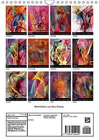 Mehrfarben von Nico Bielow (Wandkalender 2019 DIN A4 hoch) - Produktdetailbild 13