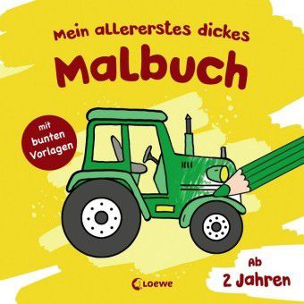 Mein allererstes dickes Malbuch (Traktor)