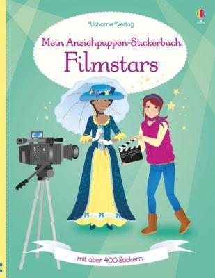 Mein Anziehpuppen-Stickerbuch: Filmstars, Fiona Watt