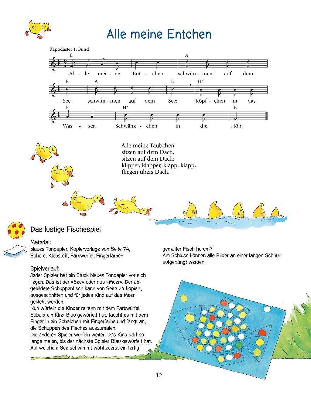 Mein Buntes Liederbuch Mit Vielen Tollen Spielideen Buch