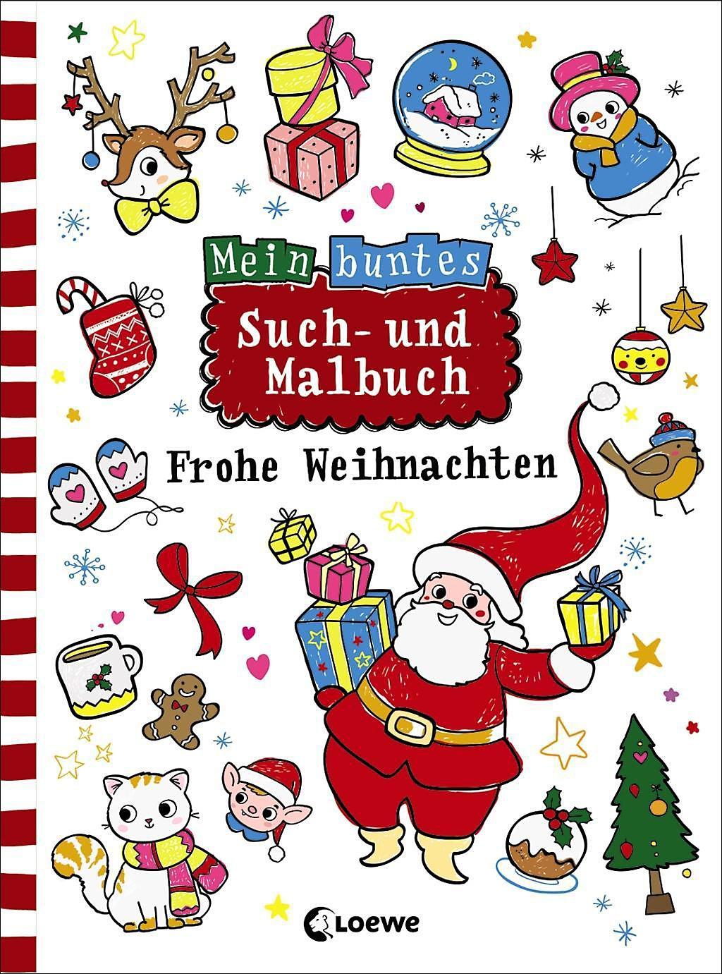 übersetzer Frohe Weihnachten.Mein Buntes Such Und Malbuch Frohe Weihnachten Buch Weltbild Ch