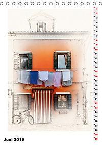 Mein Burano - Skizzen (Tischkalender 2019 DIN A5 hoch) - Produktdetailbild 6