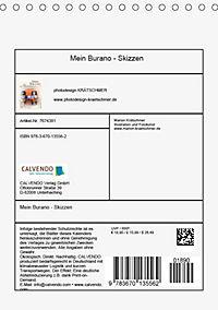 Mein Burano - Skizzen (Tischkalender 2019 DIN A5 hoch) - Produktdetailbild 13