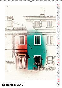 Mein Burano - Skizzen (Wandkalender 2019 DIN A2 hoch) - Produktdetailbild 7