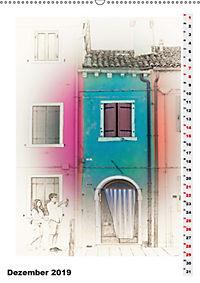 Mein Burano - Skizzen (Wandkalender 2019 DIN A2 hoch) - Produktdetailbild 12