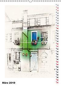 Mein Burano - Skizzen (Wandkalender 2019 DIN A3 hoch) - Produktdetailbild 3