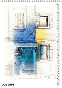 Mein Burano - Skizzen (Wandkalender 2019 DIN A3 hoch) - Produktdetailbild 7