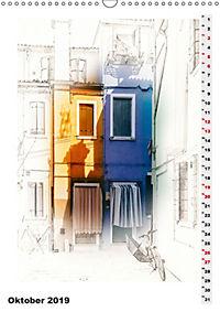 Mein Burano - Skizzen (Wandkalender 2019 DIN A3 hoch) - Produktdetailbild 10