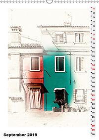 Mein Burano - Skizzen (Wandkalender 2019 DIN A3 hoch) - Produktdetailbild 9