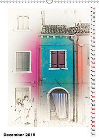 Mein Burano - Skizzen (Wandkalender 2019 DIN A3 hoch) - Produktdetailbild 12