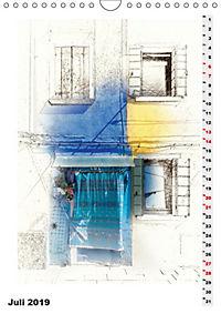 Mein Burano - Skizzen (Wandkalender 2019 DIN A4 hoch) - Produktdetailbild 7