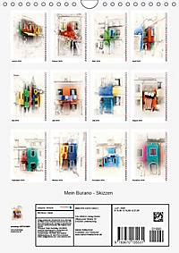 Mein Burano - Skizzen (Wandkalender 2019 DIN A4 hoch) - Produktdetailbild 13