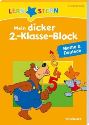 Mein dicker 2.-Klasse-Block Mathe & Deutsch - Birgit Fuchs |