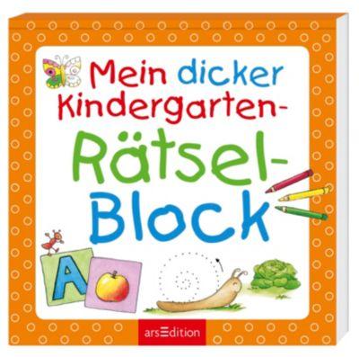 Mein dicker Kindergarten-Rätsel-Block
