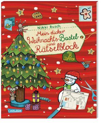 Mein dicker Weihnachts-Bastel- und Rätselblock, Nikki Busch