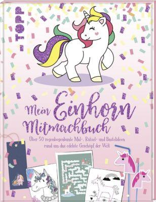 Mein Einhorn-Mitmachbuch, frechverlag