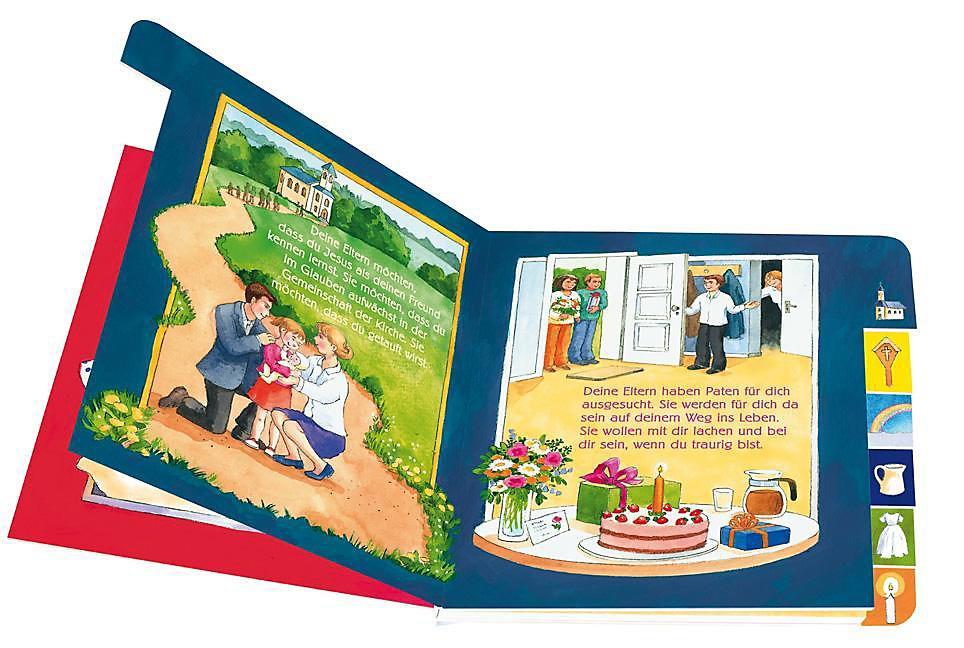 Mein Erstes Bilder Buch Von Der Taufe Buch Versandkostenfrei