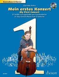 Mein erstes Konzert, Kontrabass und Klavier, m. Audio-CD -  pdf epub