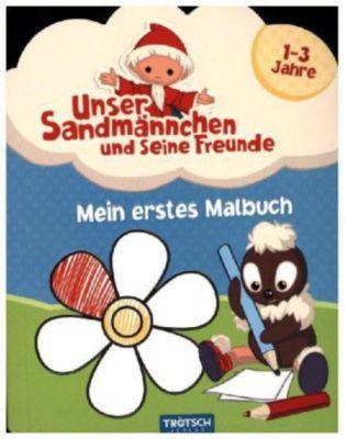 Mein erstes Malbuch: Unser Sandmännchen und seine Freunde