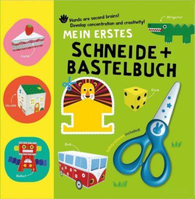 Mein erstes Schneide + Bastelbuch, m. kindersicherer Schere