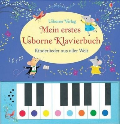 Mein erstes Usborne Klavierbuch, m. Tonmodulen, Sam Taplin