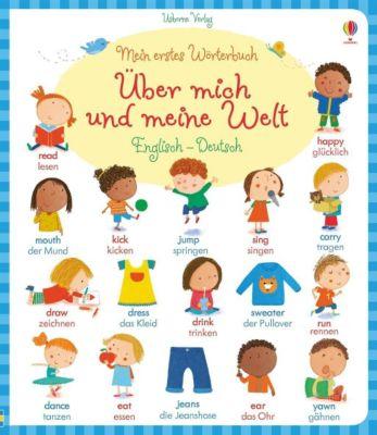Mein erstes Wörterbuch: Über mich und meine Welt, Englisch - Deutsch, Caroline Young