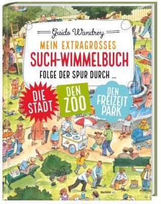 Mein extragroßes Such-Wimmelbuch, Guido Wandrey