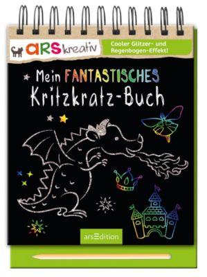 Mein fantastisches Kritzkratz-Buch