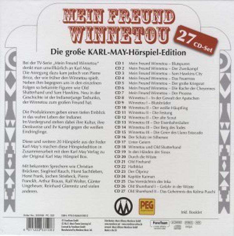 Mein Freund Winnetou Hörbuch Von Karl May Weltbildde