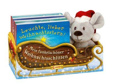 Mein funkelschöner Weihnachtsschlitten, 4 Bde. m. Plüschmaus im Weihnachtsschlitten - Anja Rieger pdf epub