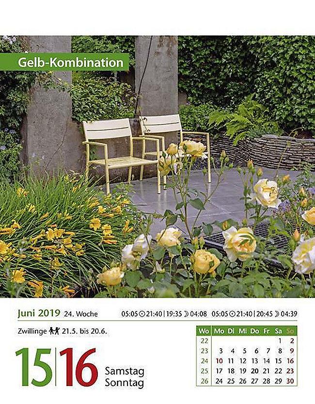 Mein Garten 2019 Kalender Günstig Bei Weltbildde Bestellen