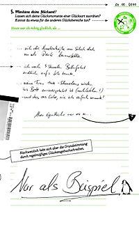 Mein Glück kommt selten allein..., Tagebuch - Produktdetailbild 5