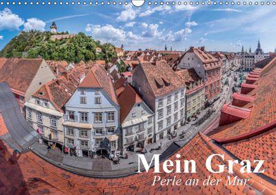 Mein Graz. Perle an der MurAT-Version (Wandkalender 2019 DIN A3 quer), Elisabeth Stanzer