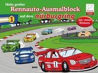 Mein großer Rennauto-Ausmalblock auf dem Nürburgring