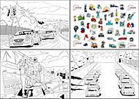 Mein großer Rennauto-Ausmalblock auf dem Nürburgring - Produktdetailbild 3
