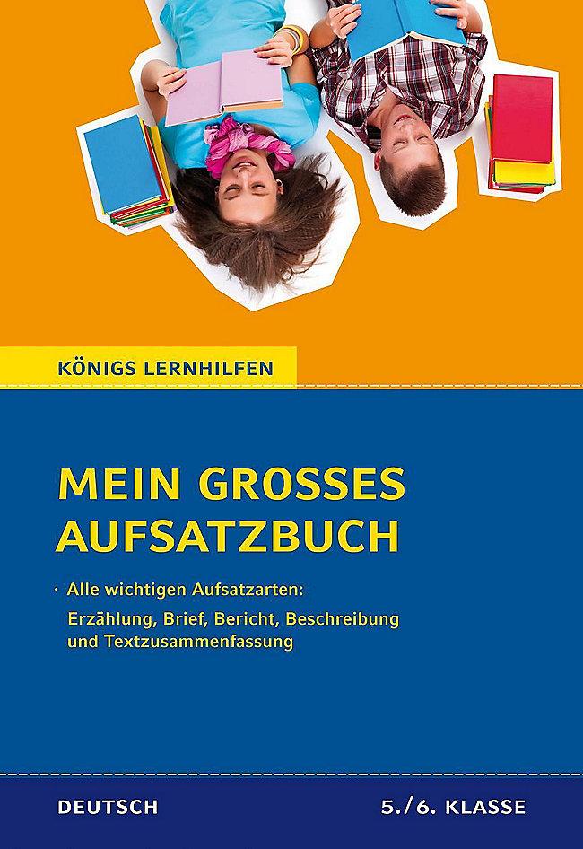 Mein Großes Aufsatzbuch Deutsch 5 6 Klasse Buch Portofrei
