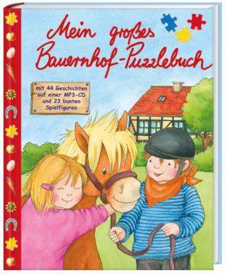 Mein grosses Bauernhof-Puzzlebuch, inkl. MP3-Audio-CD