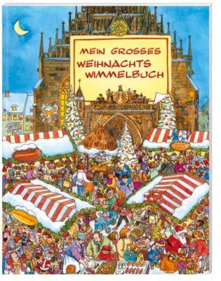 Mein grosses buntes Weihnachts-Wimmelbuch