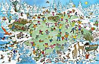 Mein grosses buntes Weihnachts-Wimmelbuch - Produktdetailbild 1