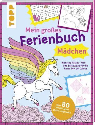 Mein großes Ferienbuch für Mädchen, frechverlag