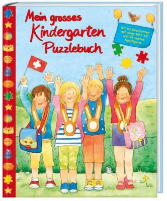 Mein grosses Kindergarten Puzzlebuch